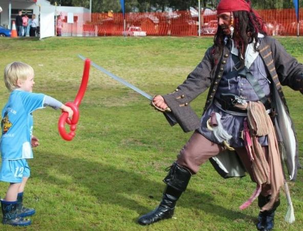 Captain Jack Sparrow Impersonator Perth