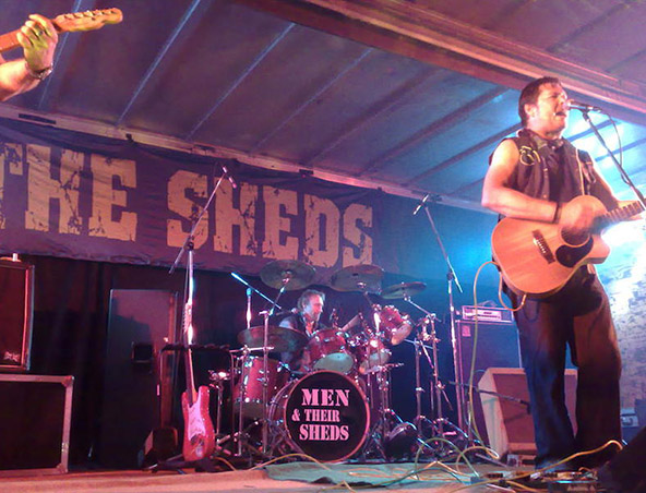 Men And Their Sheds Perth Band - Cover Band - Musicians Hire