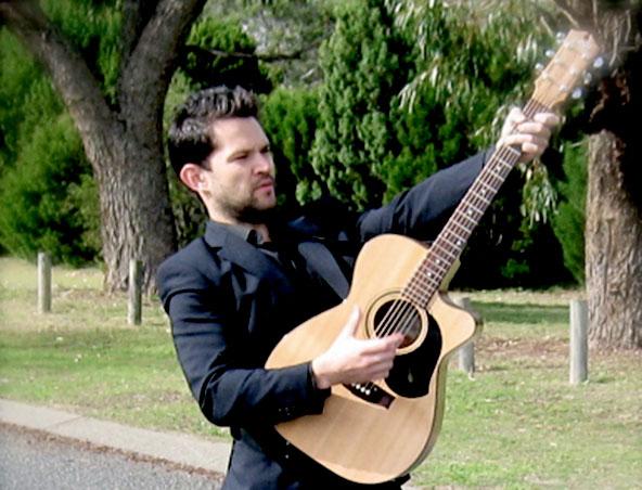 Monty Acoustic Soloist Singer Perth - Musician