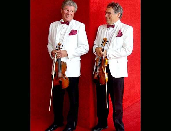 Arco Strings - Violin Duo Perth - Classical Jazz Musicians