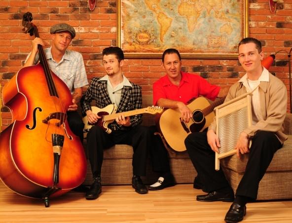 Atomic Stagecoach Rockn Roll Band Perth - Rockabilly