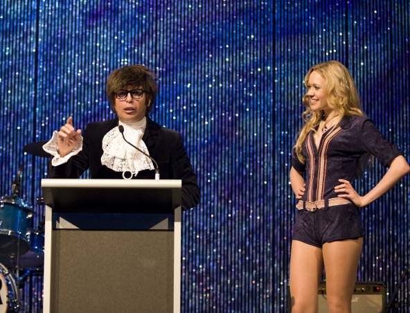 Austin Powers Impersonator Perth