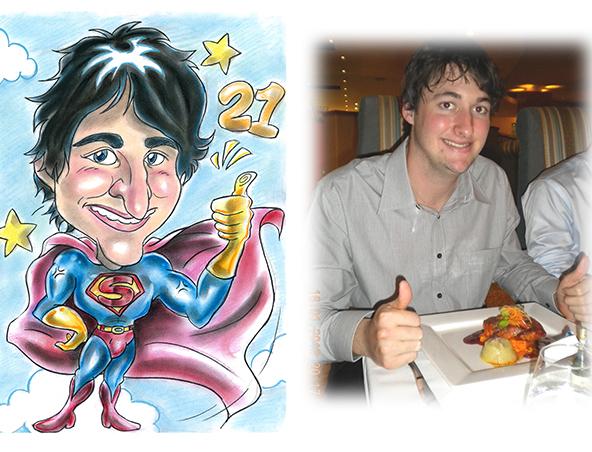Perth Caricaturist - Henry Lam Caricatures - Cartoonist