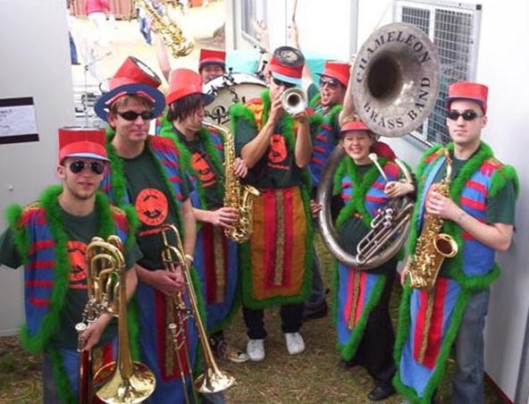 Chameleon Brass Band - Big Band - Musicians Entertainers