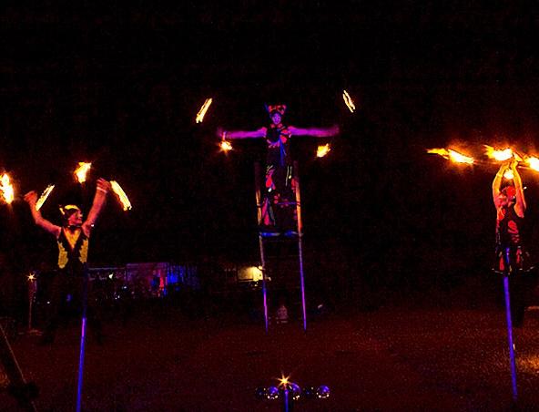 Fire Twirlers Perth