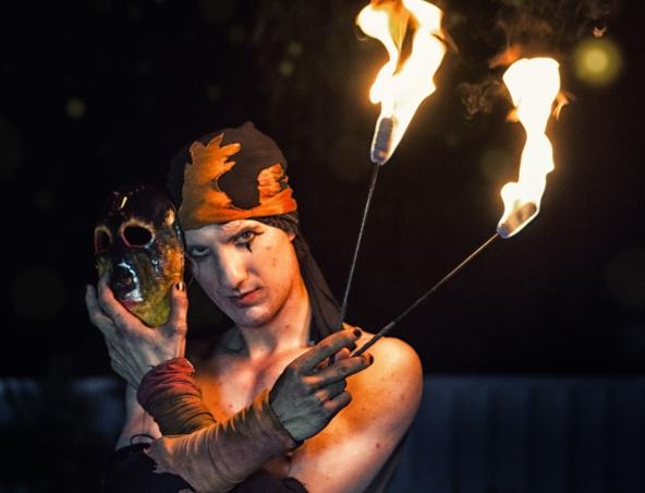 Perth Fire Twirler