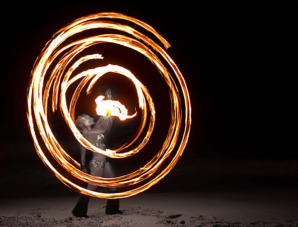 Fire Twirlers Perth - Roving Entertainers - Performers - Fire Show