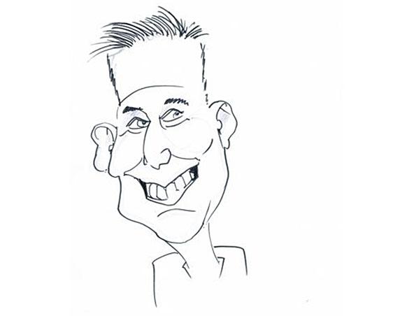 Perth Caricaturist Artist - Dave Gray - Caricatures