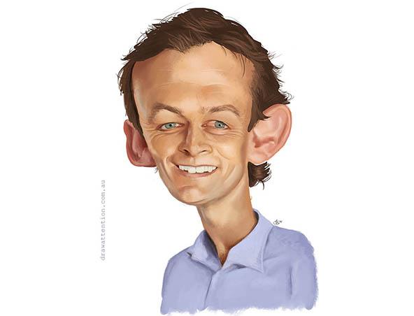 Perth Caricaturist - Jeremy Goodchild Caricatures - Cartoonist