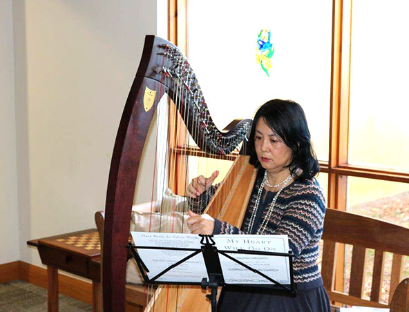 Perth Harpist