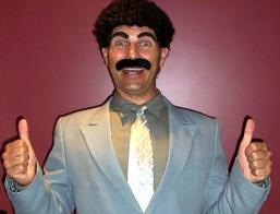 Borat Impersonator