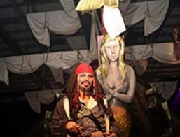 Captain Jack Sparrow Impersonator